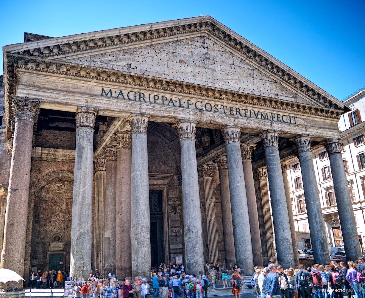Pantheon's Portico