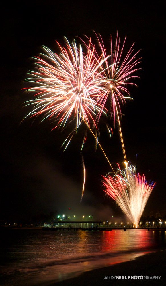 Waikiki Fireworks