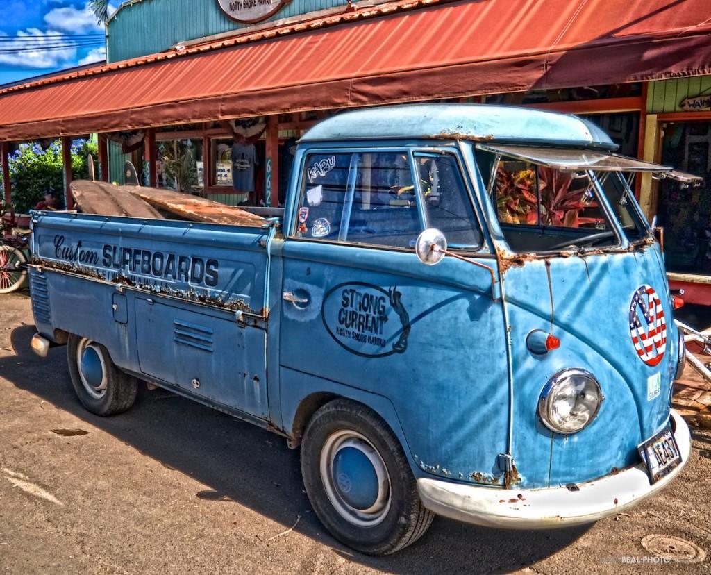 HDR VW Van