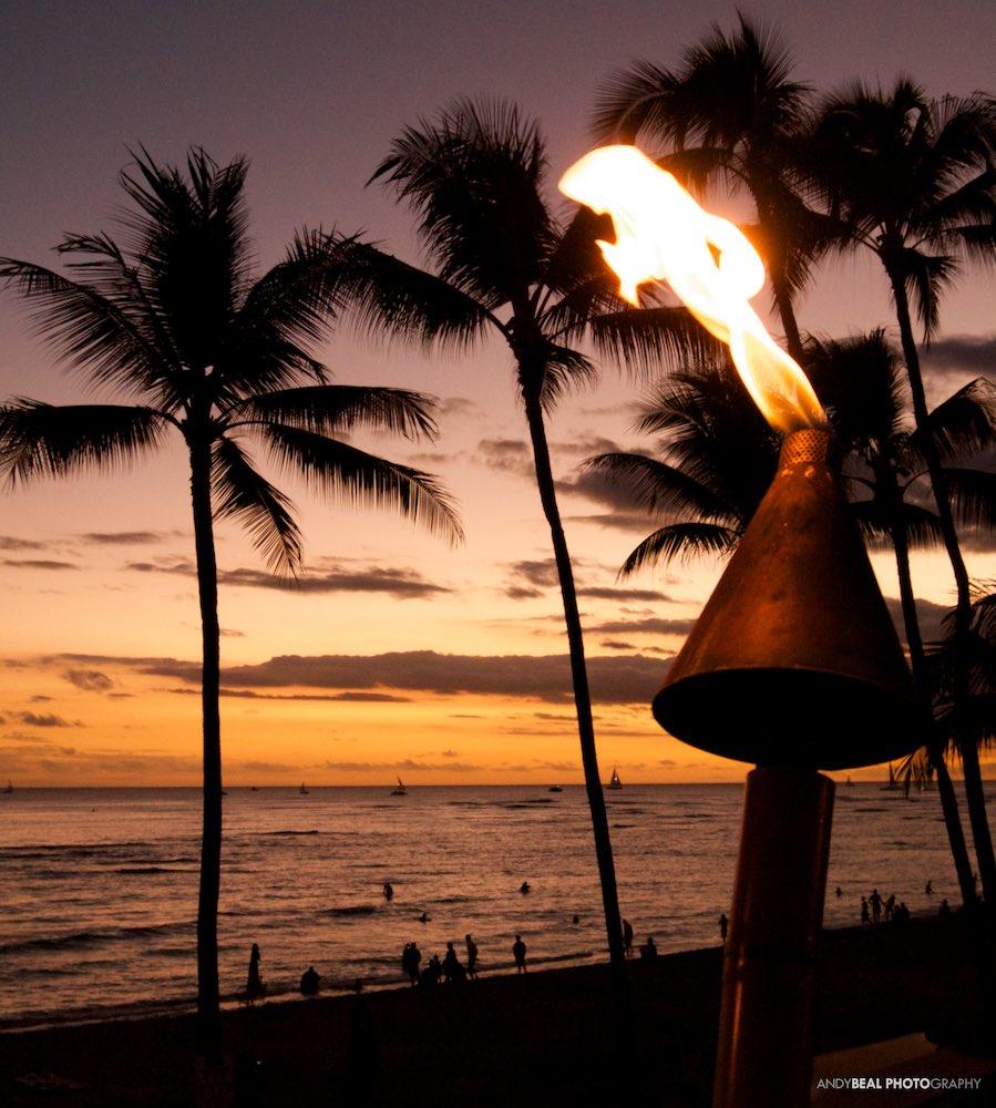 Waikiki Tiki Torch