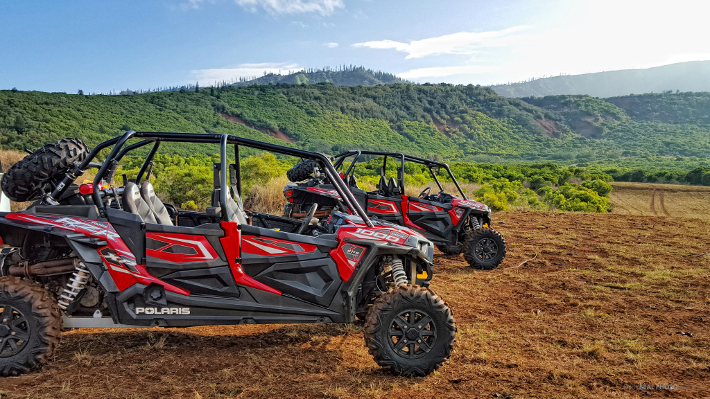 ATVs on Lanai