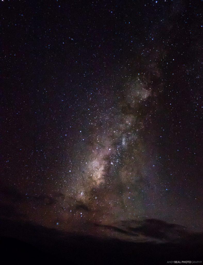 The Milky Way over Mauna Kea, Big Island of Hawaii
